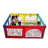 Laufgitter Baby-Laufstall Mit Kriechender Matte, Tragbarer Spielplatz Für Kleinkind Innen Anti-Fall Spielzaun, Mehrfarbig- 70 cm Hoch (größe : 200x250cm)