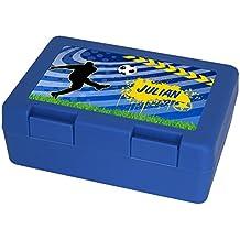 Vesperdose Vesperbox Eurofoto Brotdose mit Namen Raphael und sch/önem Motiv mit Aquarell-Fuchs f/ür Jungen Brotbox Brotzeitdose mit Vornamen