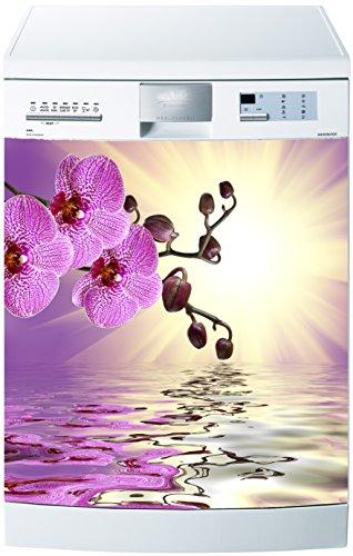 Preisvergleich Produktbild stickersnews–Magnet Spülmaschine Orchidee Reflection 60x 60cm OEM 554