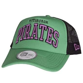 New Era Trucker Casquette - CURVE Pittsburgh Pirates vert