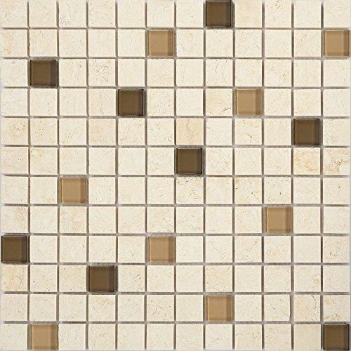 vetro-e-pietra-naturale-mosaico-piastrelle-opaca-in-marrone-e-beige-lucido-e-opaco-mt0063