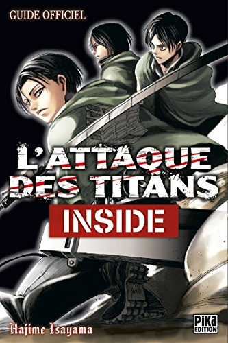 L'Attaque des Titans - Inside: Guide Officiel