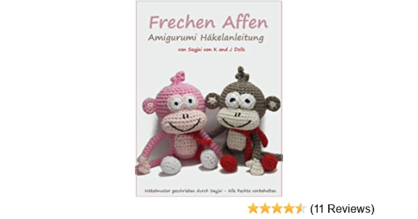 Amigurumi Affe häkeln / Anleitung Affe häkeln | 315x600