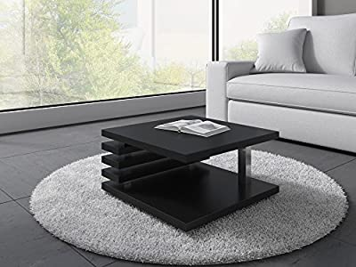 Coffee Table Oslo 60 x 60 cm (Black Matt)