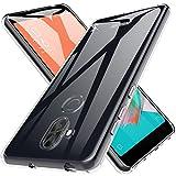 Custodia ASUS ZenFone 5 Lite/5Q Cover, LK Case in Morbido Silicone di Gel Antigraffio in TPU Ultra [Slim Thin] Cover Protettiva - Trasparente