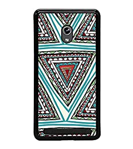 Fiobs Designer Back Case Cover for Asus Zenfone 6 A600CG (jaipur rajasthan african america cross pattern)