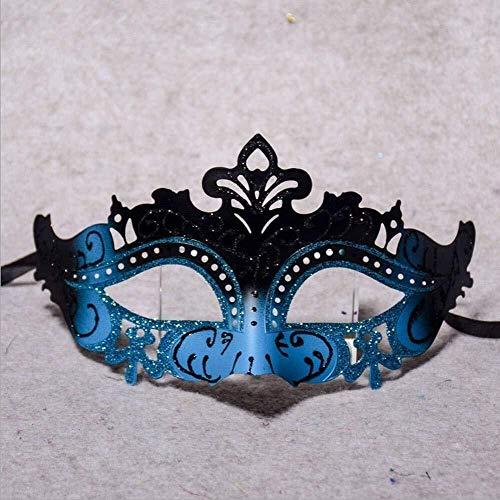 Maske Halbes Gesicht Make-up Kostüm Kopfschmuck Maskerade weiblichen Sinn Partei COS Prinzessin halbes Gesicht - Kostüm Partei Sinn
