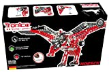 Metal Construction Model Kit Inno Falcon 732 durable metal parts dinosaur robot with real tools + picture instructions mechanical building set education learning age 12+ male adult STEM Tronico