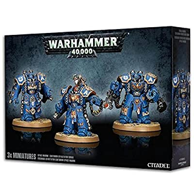 Games Workshop Jeux Atelier 99120101211 Space Marine Centurion Devastator Squad Dessus de Table de Jeux Miniature