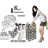 King International Stainless Steel Silver Diwali,Dhanteras Special Dinner Set,Set Of 42 Pieces
