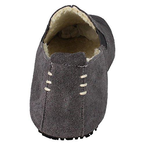 Uomini Grigi Clarks Gli Pantofole Per BZZ4Ixt