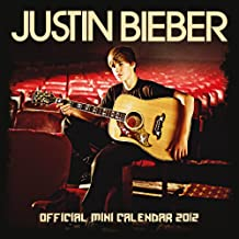 Official Justin Bieber Mini Calendar 2012