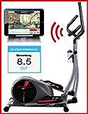 Sportstech CX610 Profi Crosstrainer mit Smartphone App Steuerung