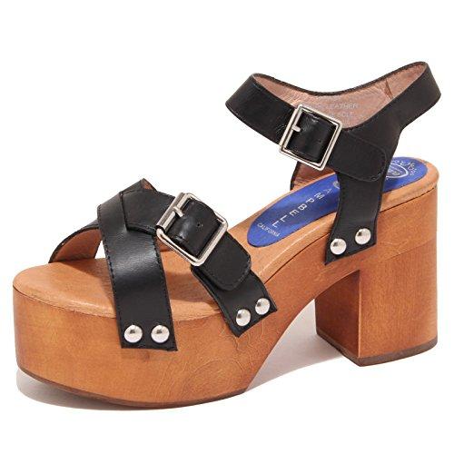 6888O sandali donna JEFFREY CAMPBELL PEASY nero scarpa shoe sandal woman [40]