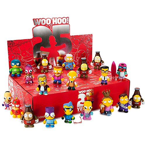 Simpsons Vinyl Figures 8 cm Display 25th Anniversary (20) Kidrobot