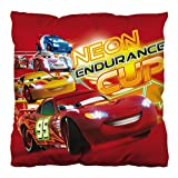 Room Studio 708390 Coussin Carré Motif Cars Disney Polyester Rouge 35 x 35 x 4 cm