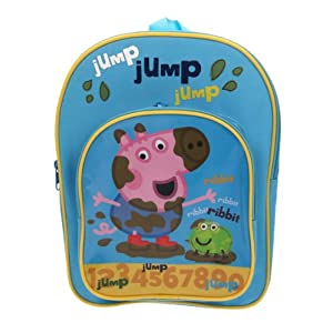 Peppa Pig PEPPA001238 – Mochila Azul Azul Talla única niño
