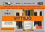 Farbstift Lackstift Touch-Up-Pen for IKEA VITTSJÖ white