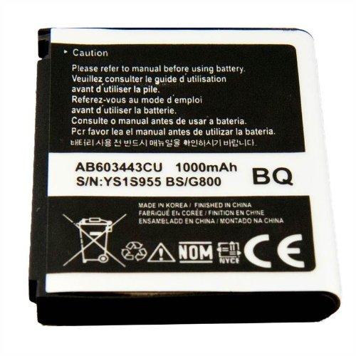 1000-mAh-Batteria-ricaricabile-ad-alta-capacit-per-Samsung-Tocco-Lite-S5230