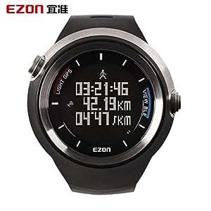 Beauty cadeau Ezon Sports de plein air pour Smart Gps Montre de course à pied pour homme électronique G Montre étanche multifonction