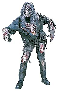 Complete Zombie Adult Costume One Size Halloween Fancy Dress