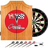 Trademark Chevrolet Corvette Wood Dart cabinet set