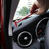 Herramienta de extracción estéreo del Coche, 13 Piezas de Palanca de eliminación estéreo del Coche Kit de Herramientas Auto Clip de la Puerta Panel de Ajuste Dash Radio Audio