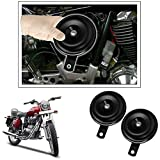 #4: Enfieldzone Original Uno Minda Black Current Loud Car Horn Motorcycle Horn For All Royal Enfield