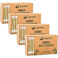 pandoo® ♻ bambú bastoncillos (200Unidades) | 100% Biodegradable