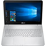 "ASUS N552VX-FW027T - Portátil Multimedia de 15.6"" (Intel Core i7-6700HQ, 8 GB de RAM, Disco HDD de 1 TB, NVIDIA GeForce GTX950M con 2 GB), gris oscuro y plateado -Teclado QWERTY Español"