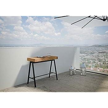 Ideapiu Console Extensible pour extérieur, Tables Pliantes, Tables ...