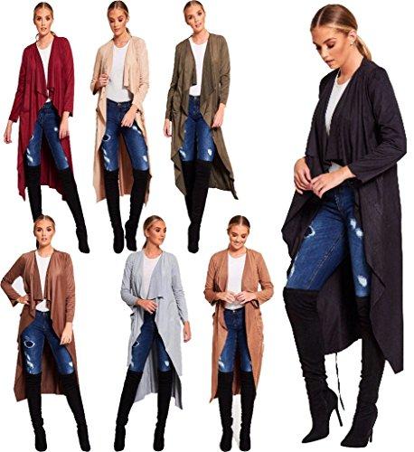 Islander Fashions - Gilet - Femme Camel