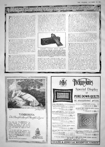 publicite-1918-dubarry-glyntos-tamborina-dickins-jones-creme-dentaire