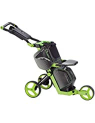 Sun Mountain–Carrito y bolsa de Golf empuje carro compacto diseño ligero, negro/verde lima