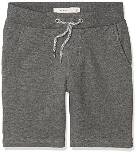 Name IT NOS Jungen Shorts Nkmhonk Unb SWE Long Noos, Grau (Dark Grey Melange), (Herstellergröße: 152) Kind-jersey-hose