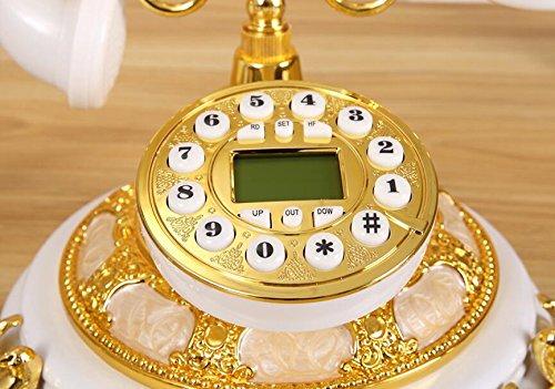 Telefono antique continental vecchio telefono - stile retrò pastorale fissa dimora - linea telefonica telefono cablato ( colore : b )