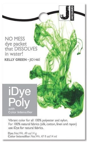 iDye Poly Kelly Green - For Polyester And Nylon Fabrics -