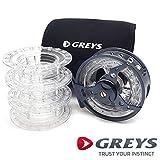 Greys QRS Cassette Reel #9/10/11/12 1436348 Kassettenrolle Fliegenrolle Fliegen Rolle Fly Reel