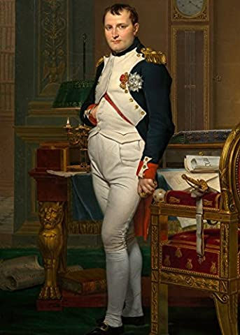 Jigsaw Puzzle 24 pieces - Magnetic Pieces - Jacques-Louis David: The Emperor Napoleon in his study at the Tuileries, 1812