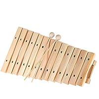 ammoon Musical Xilófono del Piano Instrumento de Madera para Niños Bebés Música Juguetes Educativos con 2 Mazos