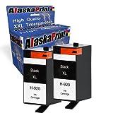 Premium 2X Kompatible Tintenpatronen Als Ersatz für Hp 920XL Schwarz für HP Officejet 6000 6500 7000 7500 E709 Drucker
