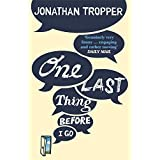One Last Thing Before I Go by Jonathan Tropper (2014-03-13)
