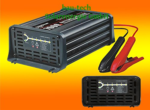 LOADCHAMP 12Volt / 12Amper vollautomatisches Batterieladegerät von bau-tech Solarenergie GmbH