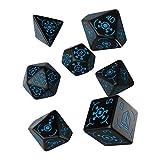 Q WORKSHOP Ingress Resistance 7 Polyhedral Pieces RPG Ornamented Dice Set