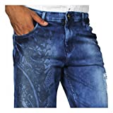 China Collection Men'sBlue Denim Casual ...