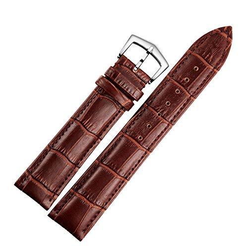 22mm cinturini per orologi marroni cinghie di