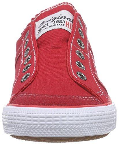 HIS - 141-007, Scarpe da ginnastica Donna Rosso (Rosso (rosso))