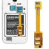 Adaptateur Dual SIM / Micro SIM smartphone galaxy Note 3 S4 S5