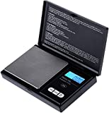 Zacro Pocket Scale - 100g X 0.01g Portable Elite Digital Pocket Scale, Multipurpose Mini Scale Can Be Used as Jewelry Scale