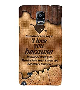Fuson Designer Back Case Cover for Samsung Galaxy Note Edge :: Samsung Galaxy Note Edge N915Fy N915A N915T N915K/N915L/N915S N915G N915D ( Love Quotes Inspiration Emotion Care Fun Funny )